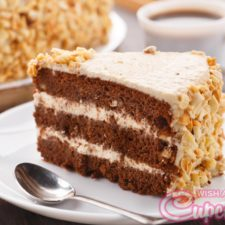 coffee-almond-cake