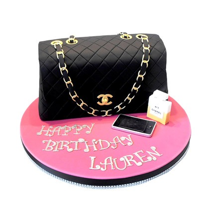 Order Chanel Bag Cake Online Buy And Send Chanel Bag Cake