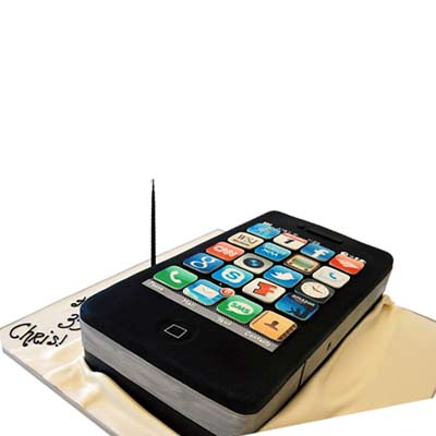 Order Iphone Cake Online Buy and Send Iphone Cake from Wish A Cupcake