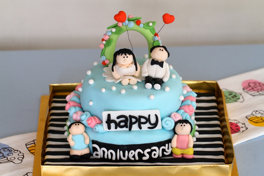Order Marriage Anniversary Cake Online Buy and Send Marriage