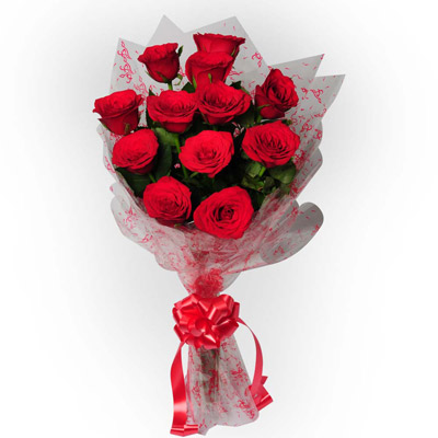 Love With Care 12 Red Roses