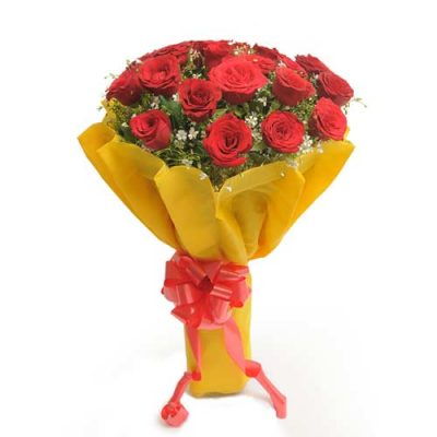 Beautiful Twenty 20 Red Roses