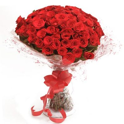 Love And Love 75 Red Roses