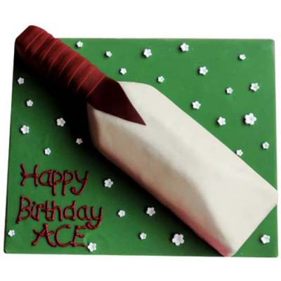 Cricket Bat Cake
