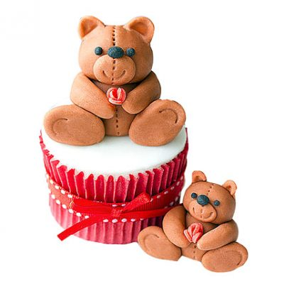 Teddy Love Cupcakes
