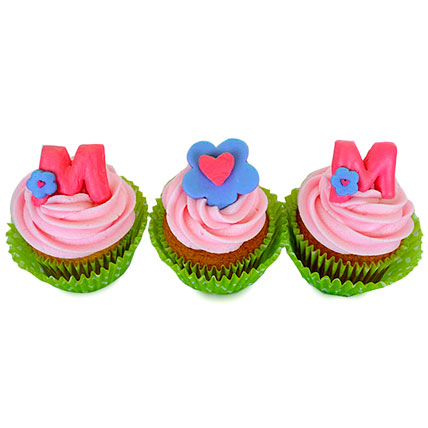 Surprise For Mom Cupcakes