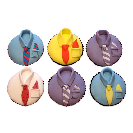 Designer Cupcakes For Dad