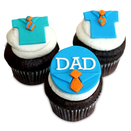 father 39 s day special cupcakes wish a cupcake. Black Bedroom Furniture Sets. Home Design Ideas