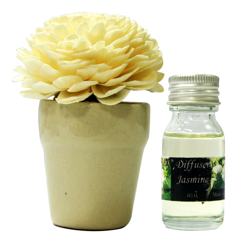 Order jasmine aroma oil sola flower diffuser online buy and send jasmine aroma oil sola flower diffuser izmirmasajfo