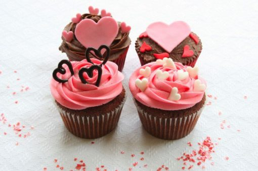 Little Hearts Cupcake