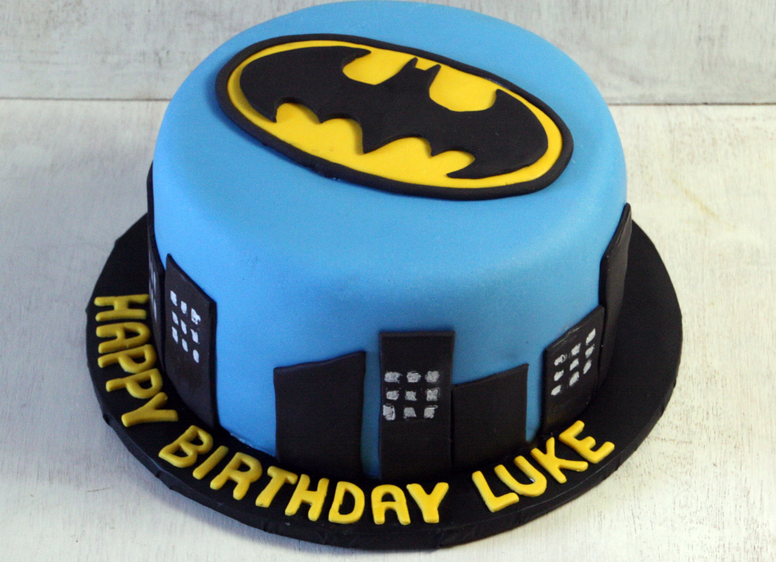 Batman Cupcake Cake Ideas