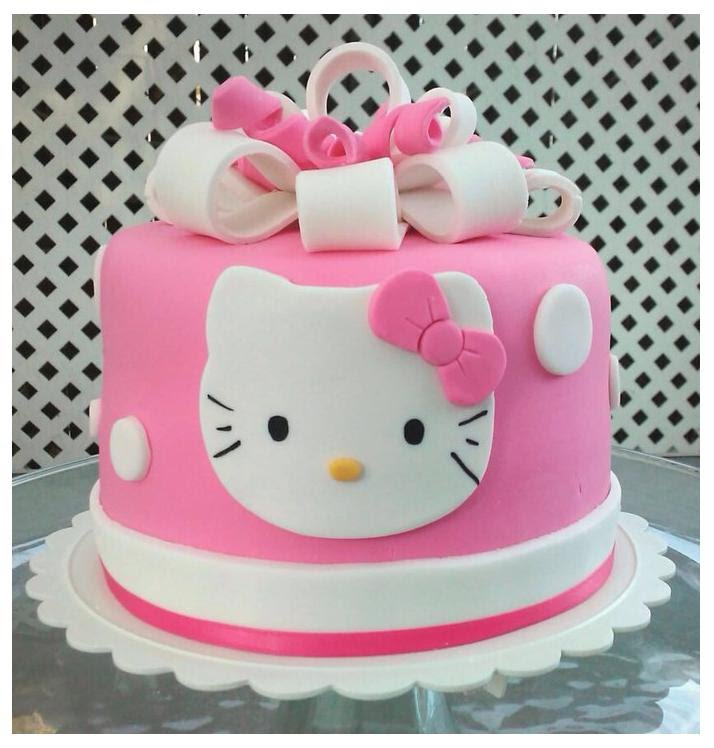 Hello Kitty Cake Wish A Cupcake