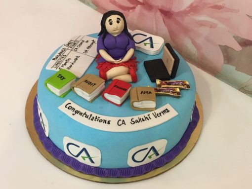 Chartered Accountant Cake