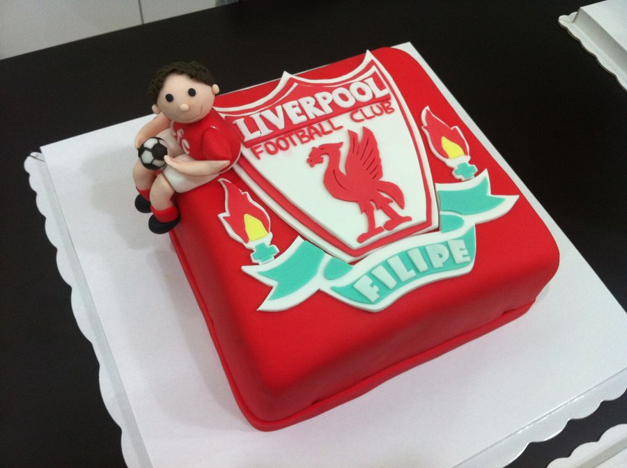 Liverpool Fc Birthday Cake Ideas