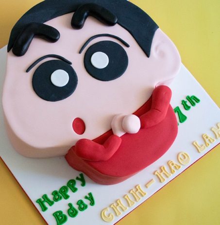 order shinchan cake online buy and send shinchan cake
