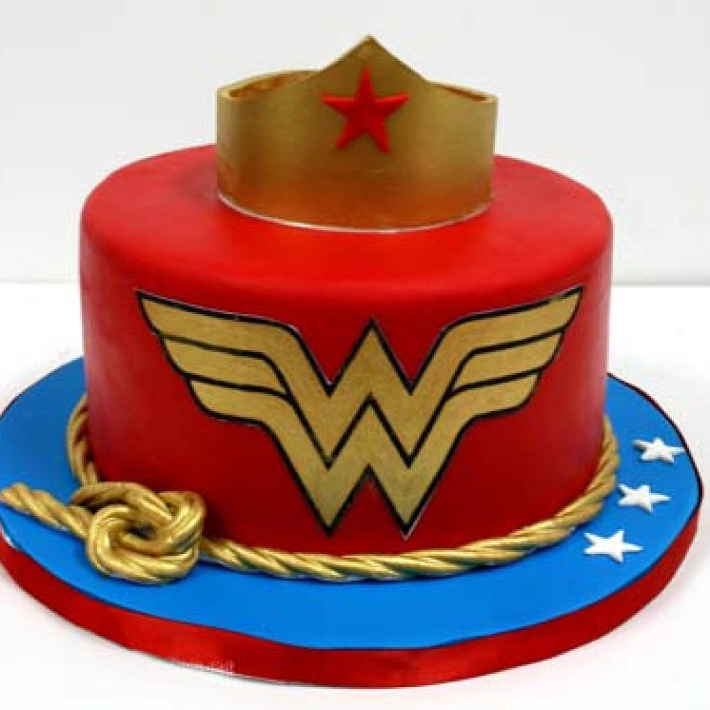 Order Wonder Woman Cake Online Buy And Send Wonder Woman