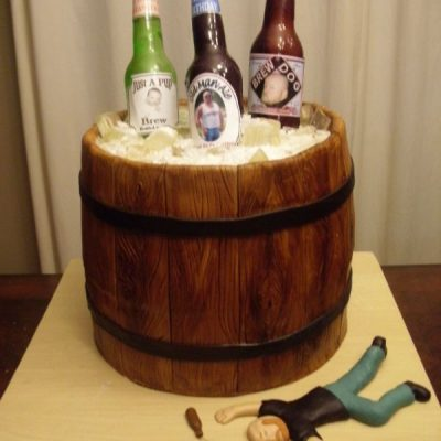 Bachelors Night Beer Cake