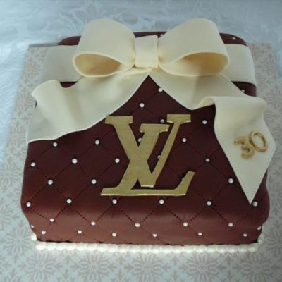 Louis Vuitton (LV) Cake