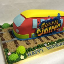 Subway Surfer Cake