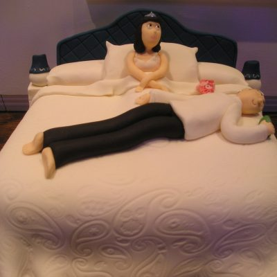 Wedding Night Cake