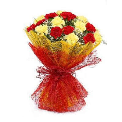 Angels-–-15-Multi-Colored-Carnations