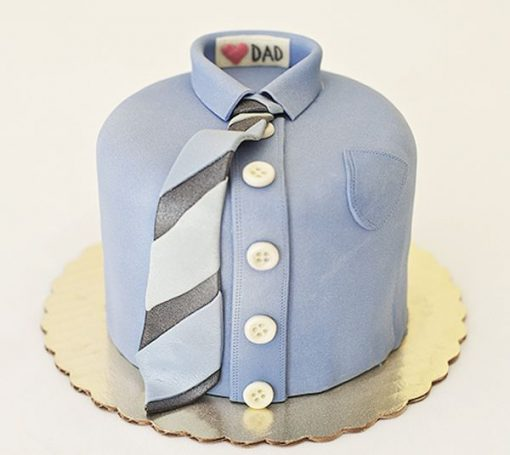 Father's Day Shirt Cake