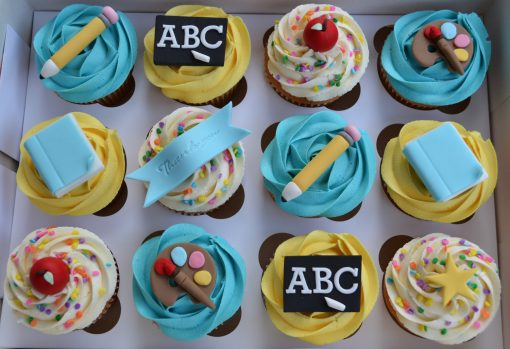 Teacher's Day Special Cupcakes