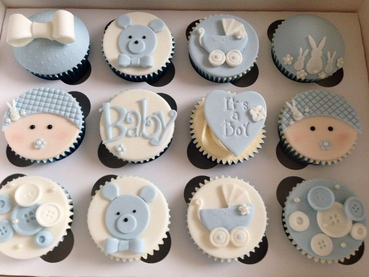 Perfect Itu0027s A Boy Baby Shower Cupcakes
