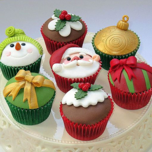 Cutest Christmas CupCake