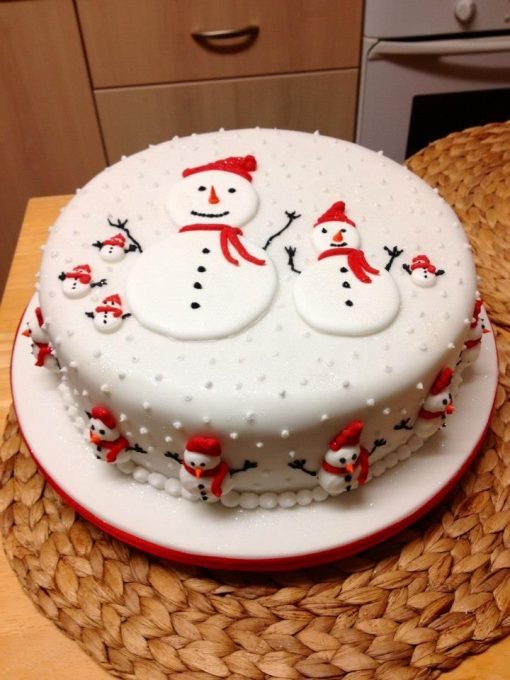 Xmas Holiday Cake