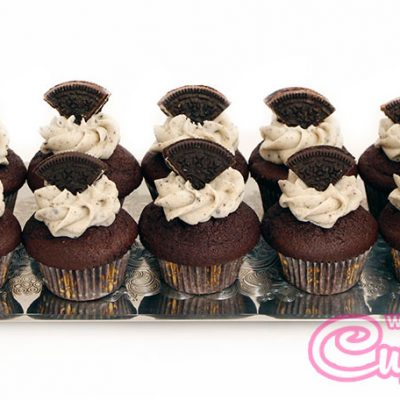Cookie cream cupcake