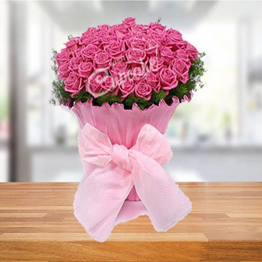 Say It With A Pink Rose