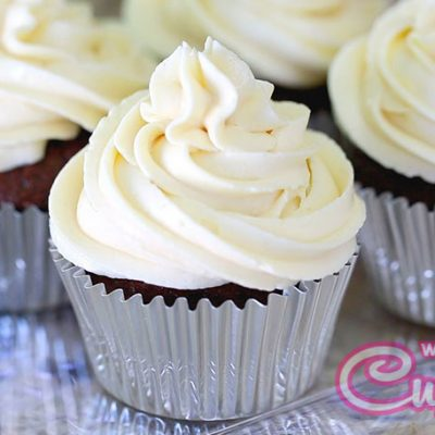 Cream cheese cupcake